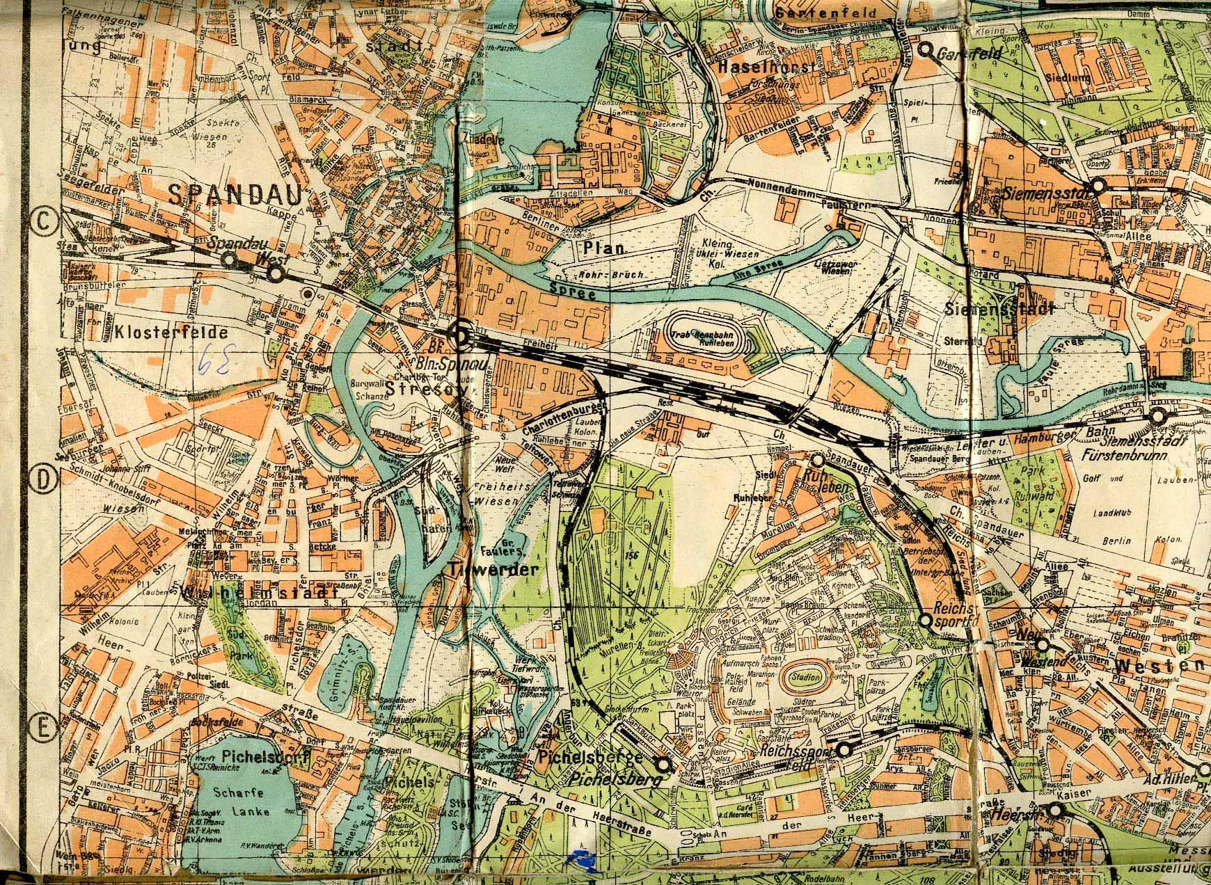 Berlin Mitte Karte.Historischer Stadtplan Berlin